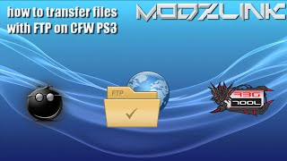 How to transfer files to and from your CFW PS3 using FTP