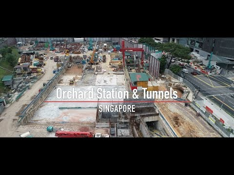 Orchard Station And Tunnels, Singapore