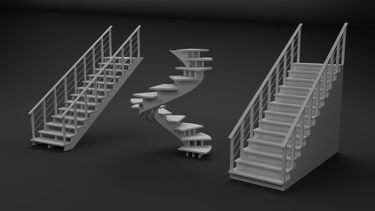 Easiest Way To Make Stairs In Blender Youtube