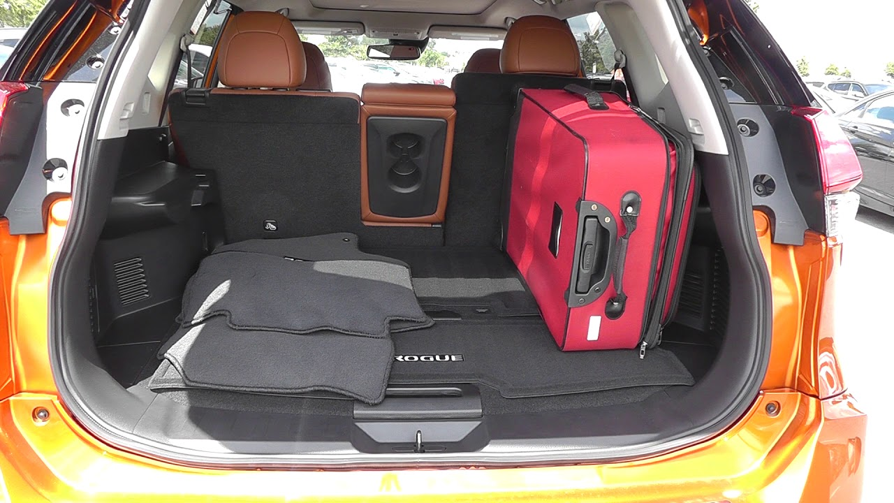 3 Piece Luggage Test 2017 Nissan Rogue Sl - YouTube