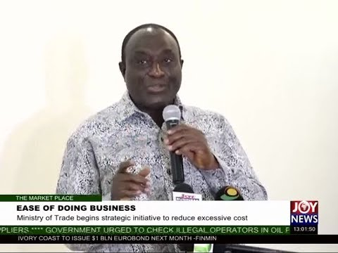 Ease of Doing Business - The Market Place on JoyNews (29-5-17)