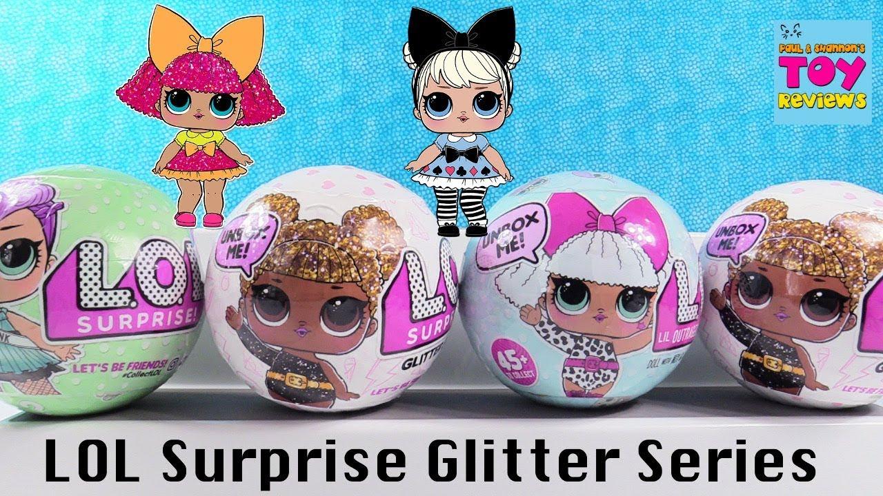 L.O.L Surprise Glitter Series 2 pack