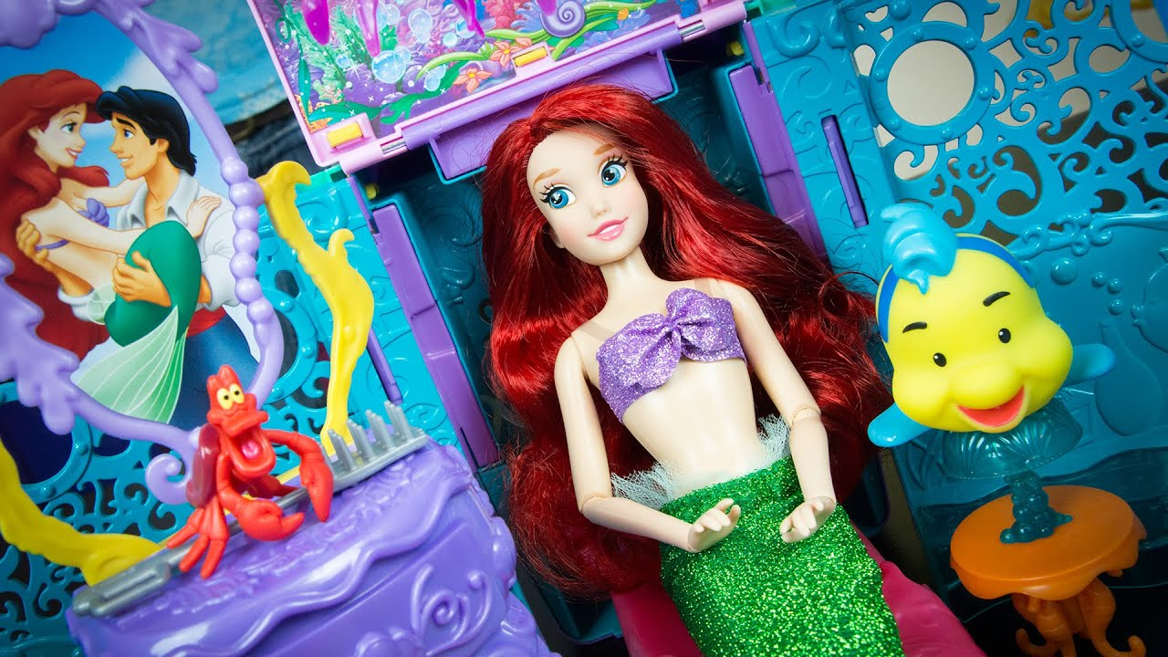 09ba0a1978 Disney Princess Ariel s Royal Ship Play Set The Little Mermaid Ariel Toys