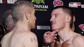 Liam Smith Vs Liam Williams Weigh In #BBTV