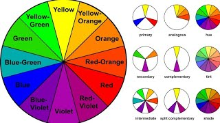 Colour Theory in Hindi