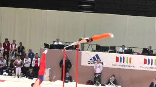 Epke Zonderland (NED) - High Bar - 2015 European Championships (Quals)
