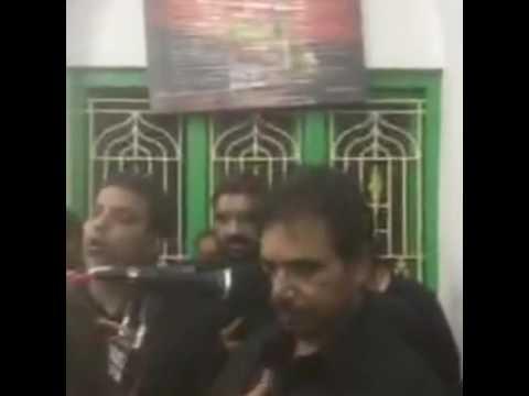 5th Safar..Qaid mei Sakina ne Shah ko pukara hai...MIR ABID ALI