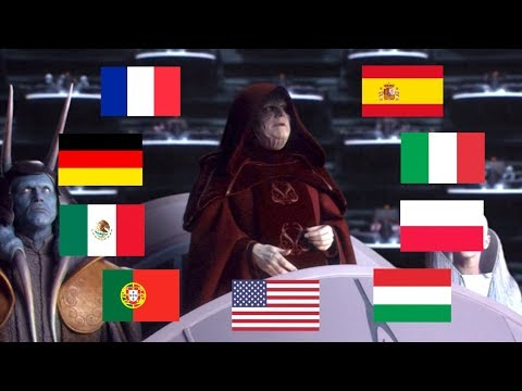 """FIRST GALACTIC EMPIRE"" IN MULTIPLE LANGUAGES"