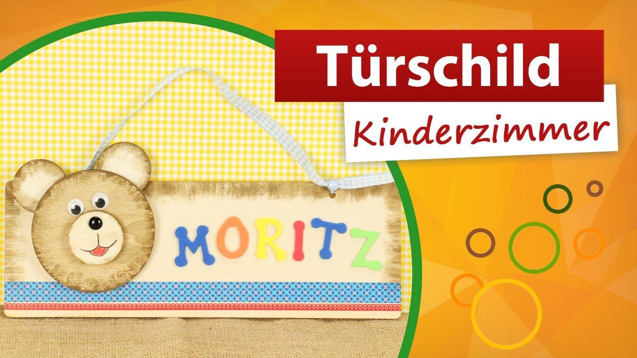 Türschild Kinderzimmer Basteln   Trendmarkt24 DIY Bastelideen