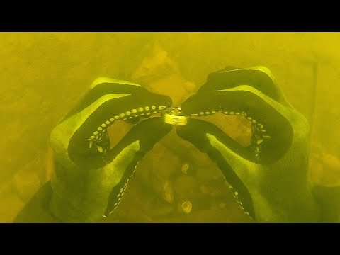 I Found a Wedding Ring Underwater in the River While Scuba Diving! $3,000+ (Returned to Owner)