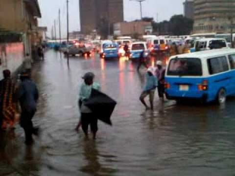 Lusaka in rains