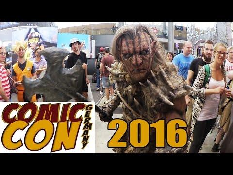 COMIC CON Germany 2016 - COSPLAY Contest FINALE - STAR PANEL - Stuttgart Aftermovie | Random VLOG