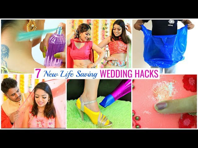 7 NEW Life Saving WEDDING HACKS You MUST Try ... | #Beauty #Fashion #Fun #Anaysa