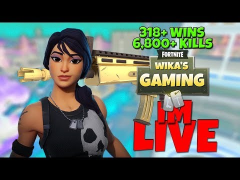 Fortnite Battle Royale Livestream | ROAD TO 1000 SUBS | 289 SOLO WINS  | 6500+ KILLS |PS4 console
