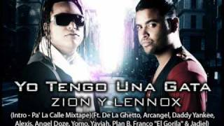 Yo Tengo Una Gata - (Original) Zion & Lennox Ft. Various Artists