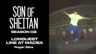 ROGER SILVA  - LONGUEST SKATEBOARD LINE EVER AT MACBA