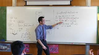 Working with a Quadratic Equation involving Algebraic Coefficients