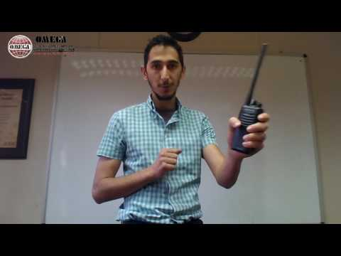 Basic Use Of A Two Way Radio