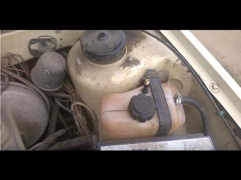 Опрессовка системы охлаждения ВАЗ
