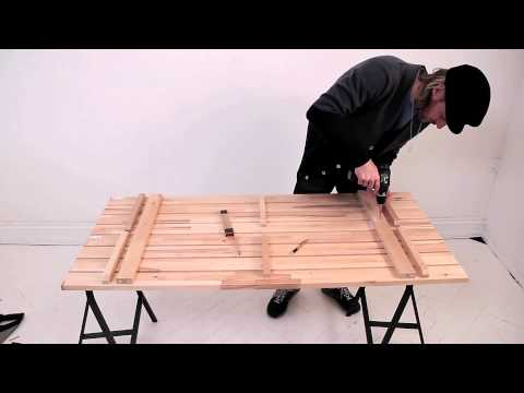 IKEA DIY Emils bord - YouTube