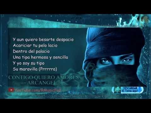 Contigo Quiero Amores - Arcangel (Original) (Video Music) (Con Letra)