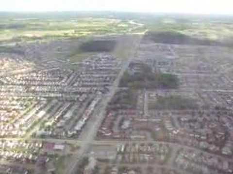 Ottawa Macdonald-Cartier International Airport landing...