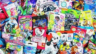 30 Disney Blind Bags Mickey Sofia Care Bears Minnie Hello Kitty Peppa Pig