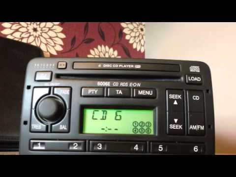 Ford Wiring Diagram Ford 6006e 6 Disc Changer Youtube