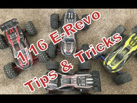 17 Tips & Tricks For The 1/16 Traxxas Mini E-Revo UPDATED WITH LINKS TO PARTS