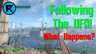 Fallout 4 What Happens if you Follow the UFO