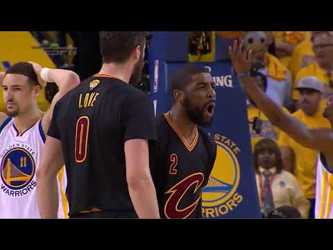 Clutch Moments From The 2015 and 2016 NBA Finals