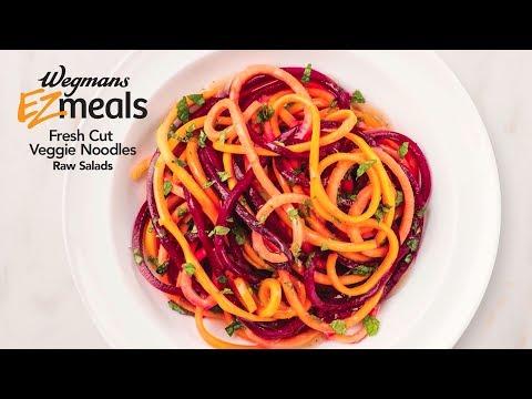 Wegmans EZ Meals Fresh Cut Veggie Noodles - Raw Salads