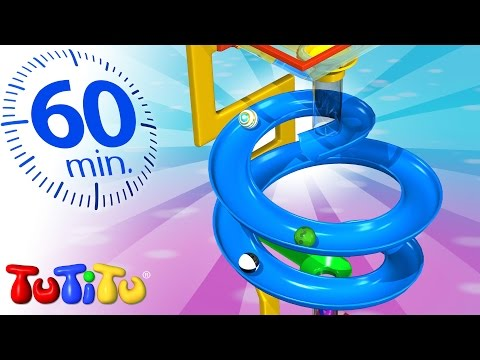 TuTiTu Specials   Marble Race   And Other Learning Toys for Toddlers   1 HOUR Special