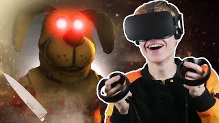 SCARY DOG ATTACK IN VIRTUAL REALITY! | Duck Season VR (Oculus Touch Gameplay) #3