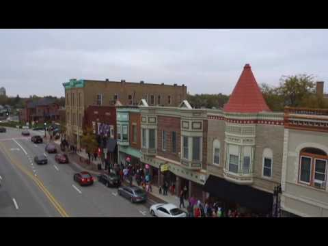 Downtown DeKalb Illinois