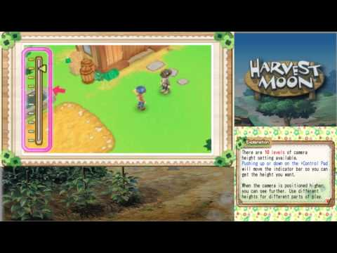Let's Play Harvest Moon: A New Beginning 01: Welcome to Echo Village