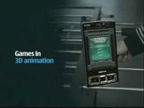 Nokia N95 8GB TV-Commercial