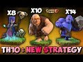 GIANT + WITCH + BOWLERS | GIBOWITCH | Th10 New 3 STARS War Attack Strategy | Clash Of Clans