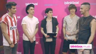 Union J Interview Backstage at Blinkbox Music UK Live
