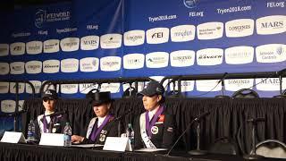 WEG: Isabell Werth, Laura Graves e Charlotte Dujardin falam sobre GP Especial
