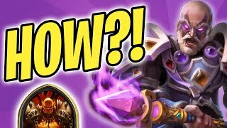 Fatiguing a FATIGUE WARRIOR | Archbishop Benedictus | Priest  | The Witchwood | Hearthstone