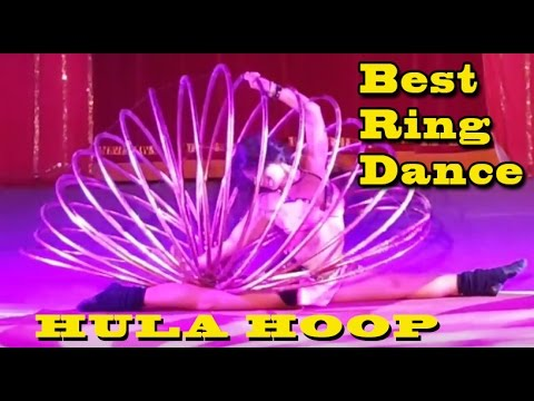 Worlds Amazing Ring Dance By a Beautiful Girl  (HULA HOOP DANCE)