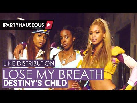 Destiny39s Child Lose My Breath Line Distribution