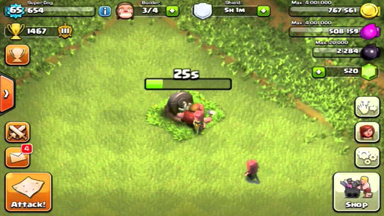 ✅Clash Of Clans: Removing Halloween Headstone 2017 - YouTube