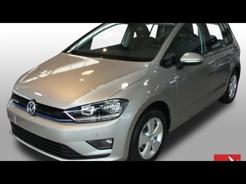 volkswagen golf sportsvan 1 0 tsi comfortline youtube. Black Bedroom Furniture Sets. Home Design Ideas