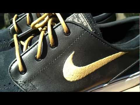 size 40 6ab0b c120a Nike Stefan Janoski Takashi Black Gold - YouTube