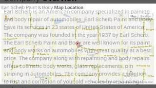 Earl Scheib Paint & Body Corporate Office Contact Information Thumbnail