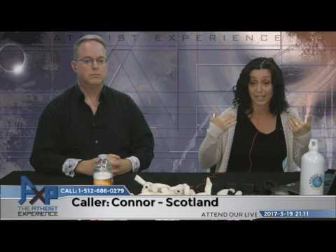 Free Will   Connor – Scotland   Atheist Experience 21.11