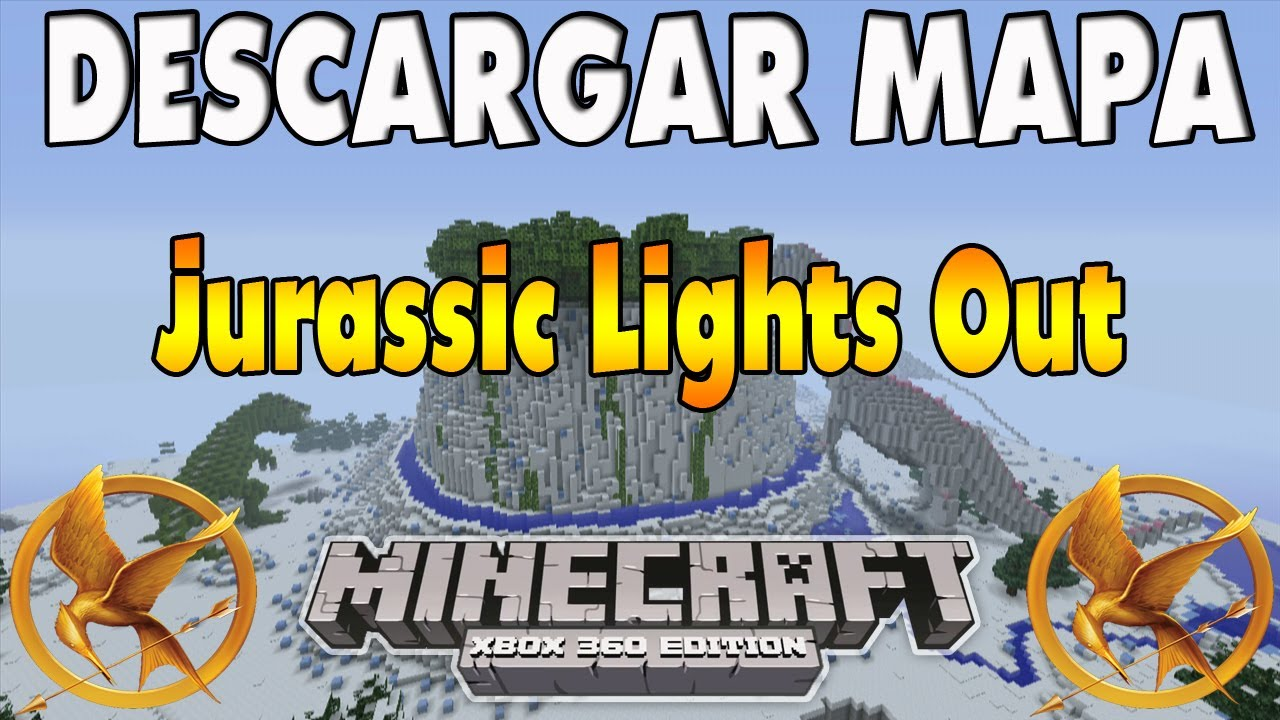 Minecraft Xbox - Hunger Games - Jurassic Lights Out w