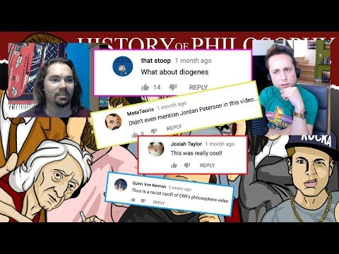 """""""Reading Comments on 'History of Philosophy RAP' w/ Charles Tew"""""""